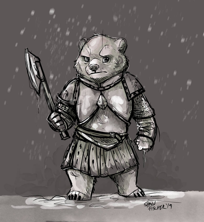 Doodle - Lyanna Mormont by SpainFischer