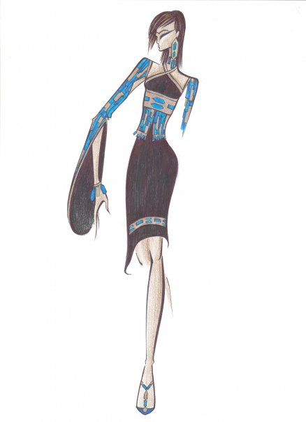 Fashion Sketches by Lyaman