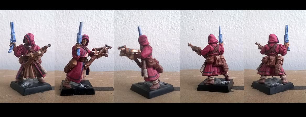 Elf Wizard miniature by NatteRavnen on DeviantArt