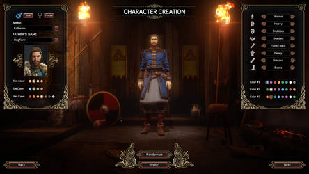 Expeditions Viking Character Creation Male