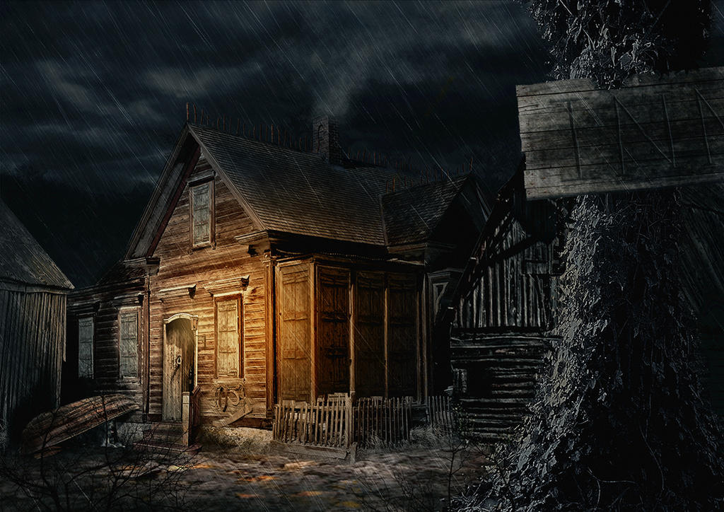Rainy Inn by NatteRavnen