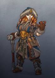 Dwarf Runeweaver by NatteRavnen