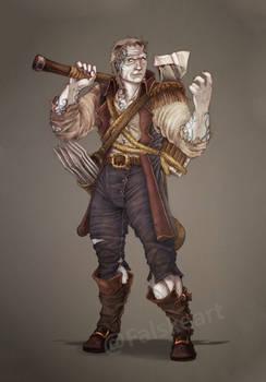 Comission- Goliath Barbarian