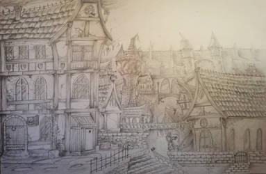 'Grimdark city'-heim by NatteRavnen