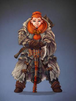 Dwarven Runeweaver lvl 9
