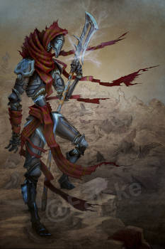 Commission- Warforged Monk