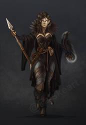 Priestess of the Raven Queen by NatteRavnen