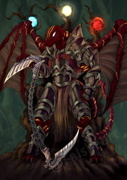 Red Dragonborn Paladin- commission
