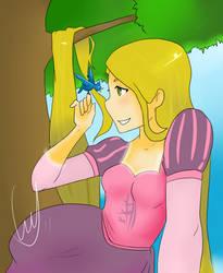 Rapunzel - Secret Santa FTW by MJ-k