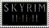 Skyrim Stamp by Tobizord