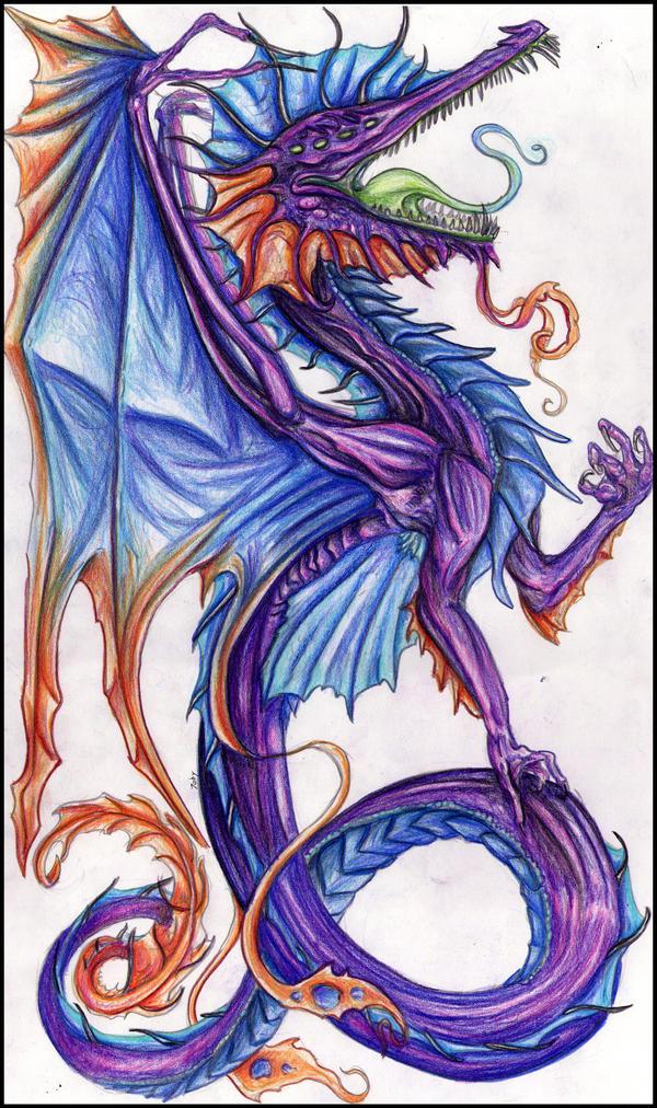 Sea Dragon by Tobizord