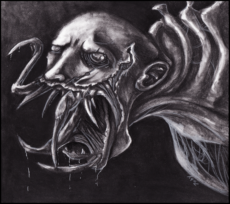 Leaper Necromorph by Tobizord