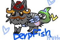 The marvelous Derpfish by EtheTheKitteh