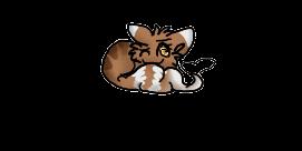 I like my tail. :Dappledrose: by EtheTheKitteh