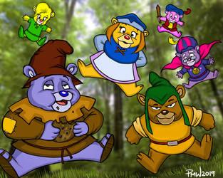 Gummi Bears by Painsmash