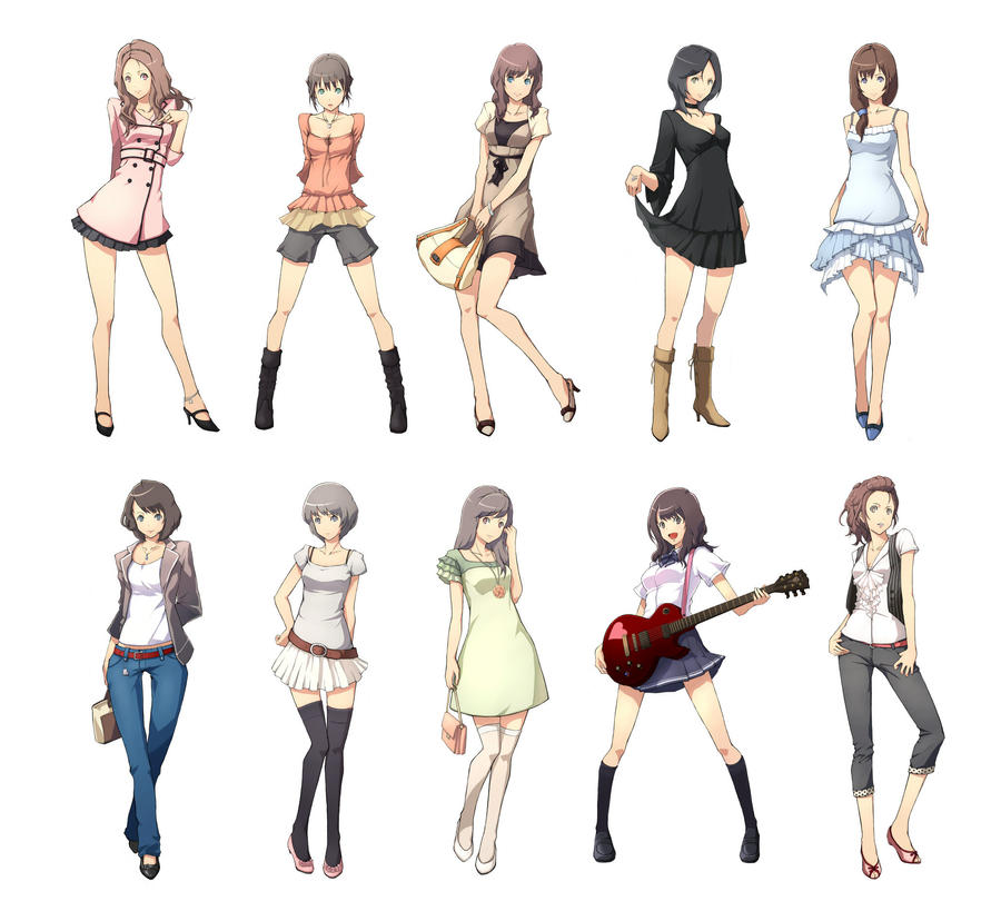 Go Back gt Gallery For Cool Anime Girl Outfits