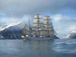 Ship by feainne-stock