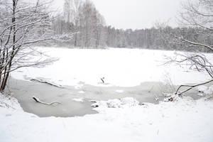 Frozen Pond... by feainne-stock