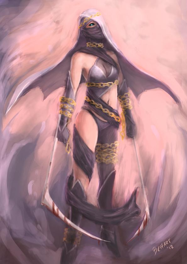 Sura-Ashra the Blood Princess by bchart