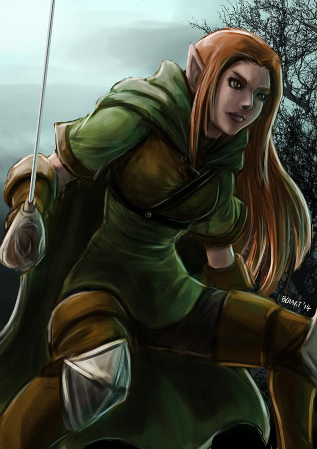 Elven Ranger by bchart