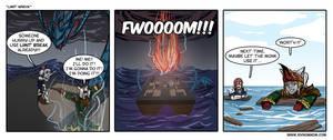 FFXIV Comic: Limit Wreck by bchart