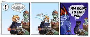 FFXIV Comic - Rude.