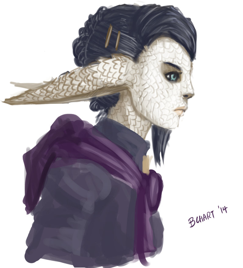 FFXIV: More Fake Yugiri by bchart
