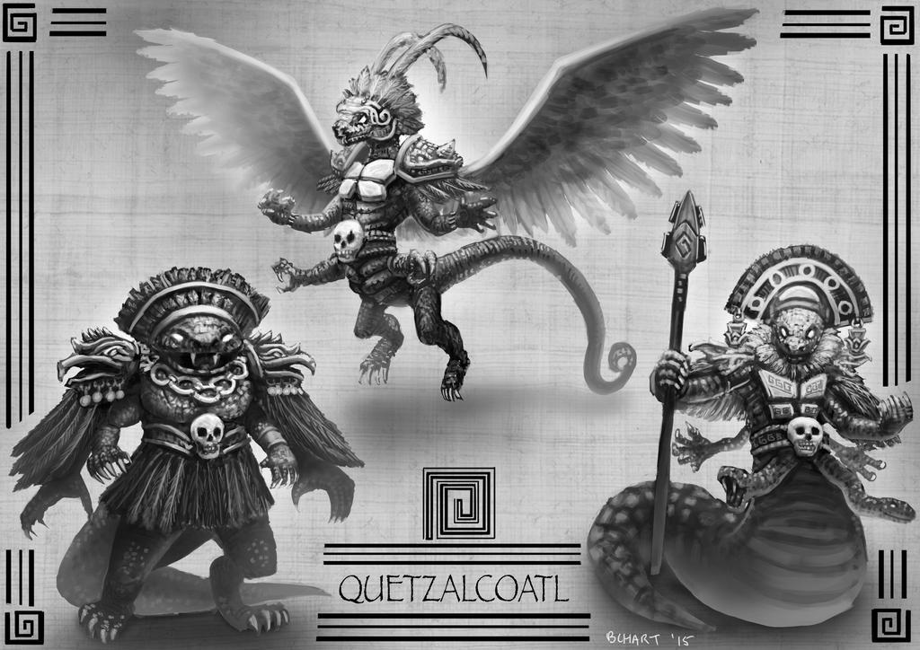 Final Boss: Quetzalcoatl by bchart