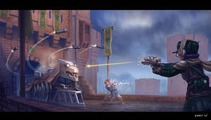 Chrono Trigger - Dragon Tank by bchart