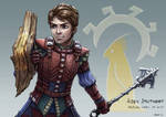 C: Aiden Stoutheart, Halfling Cleric of Guin