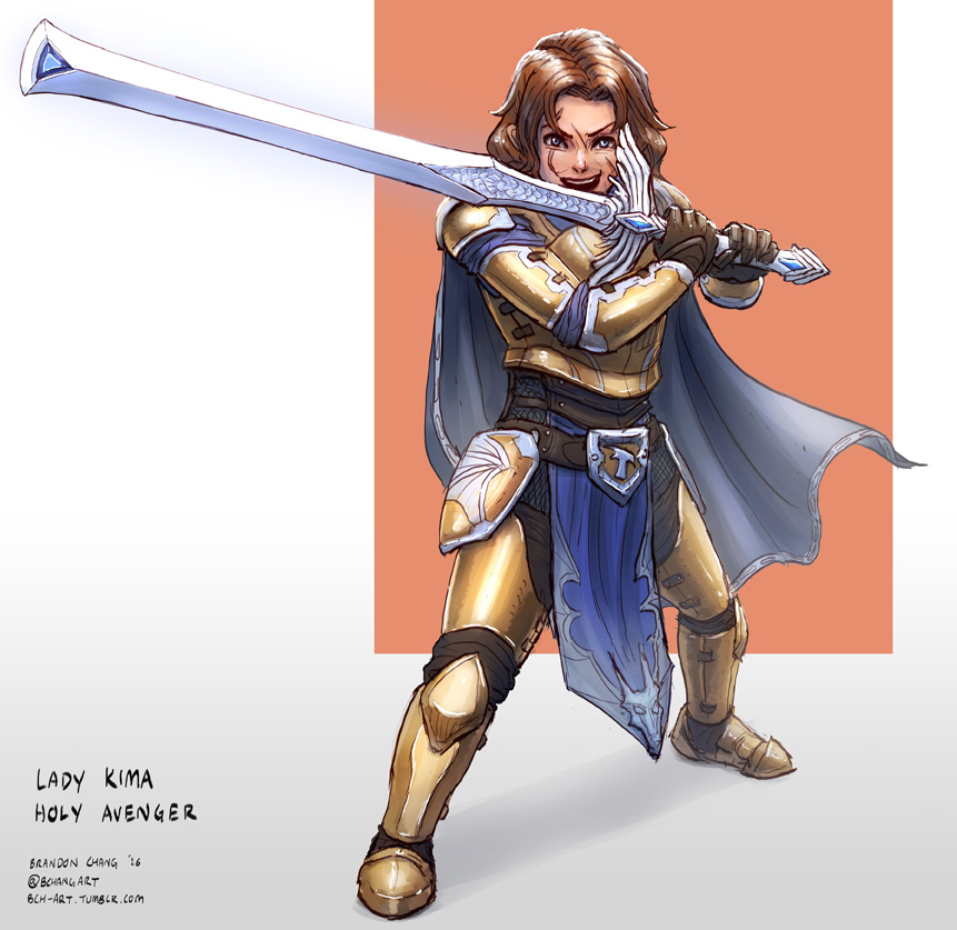 Critical Role: Lady Kima of Vord by bchart