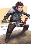 C: Gordie, Halfling Fighter Rogue
