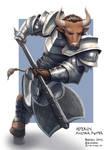 C: Asterion, Minotaur Fighter