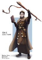 C: Sobie, Human Wizard by bchart