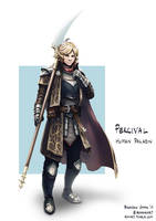 C: Percival, Human Paladin by bchart