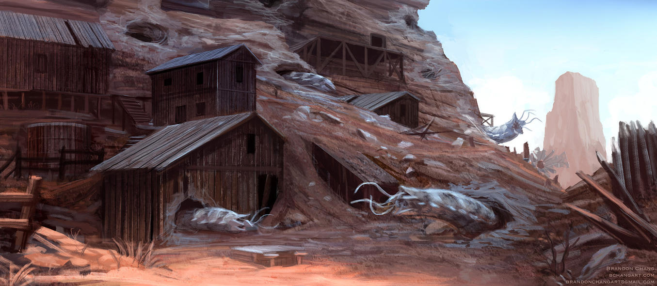 The Wildest West 02 by bchart