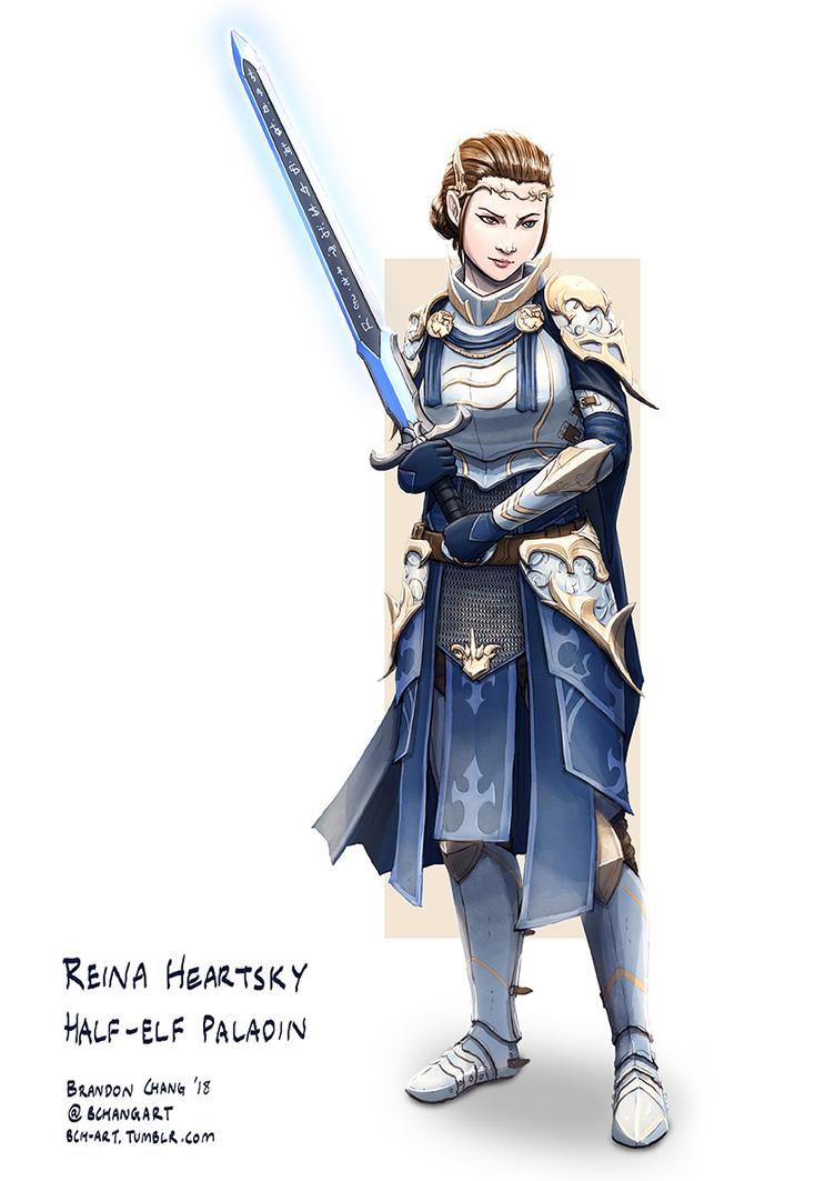 C: Reina Heartsky by bchart