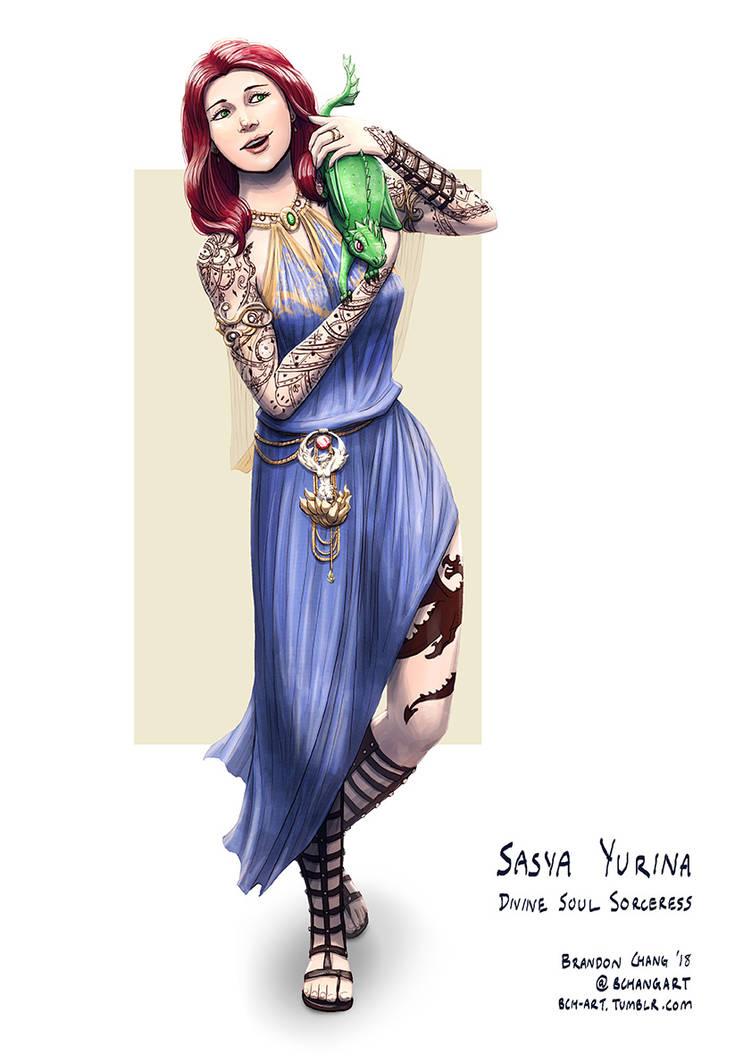 C: Sasya Yurina by bchart