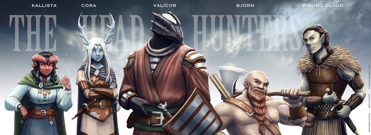 C: The Head Hunters by bchart