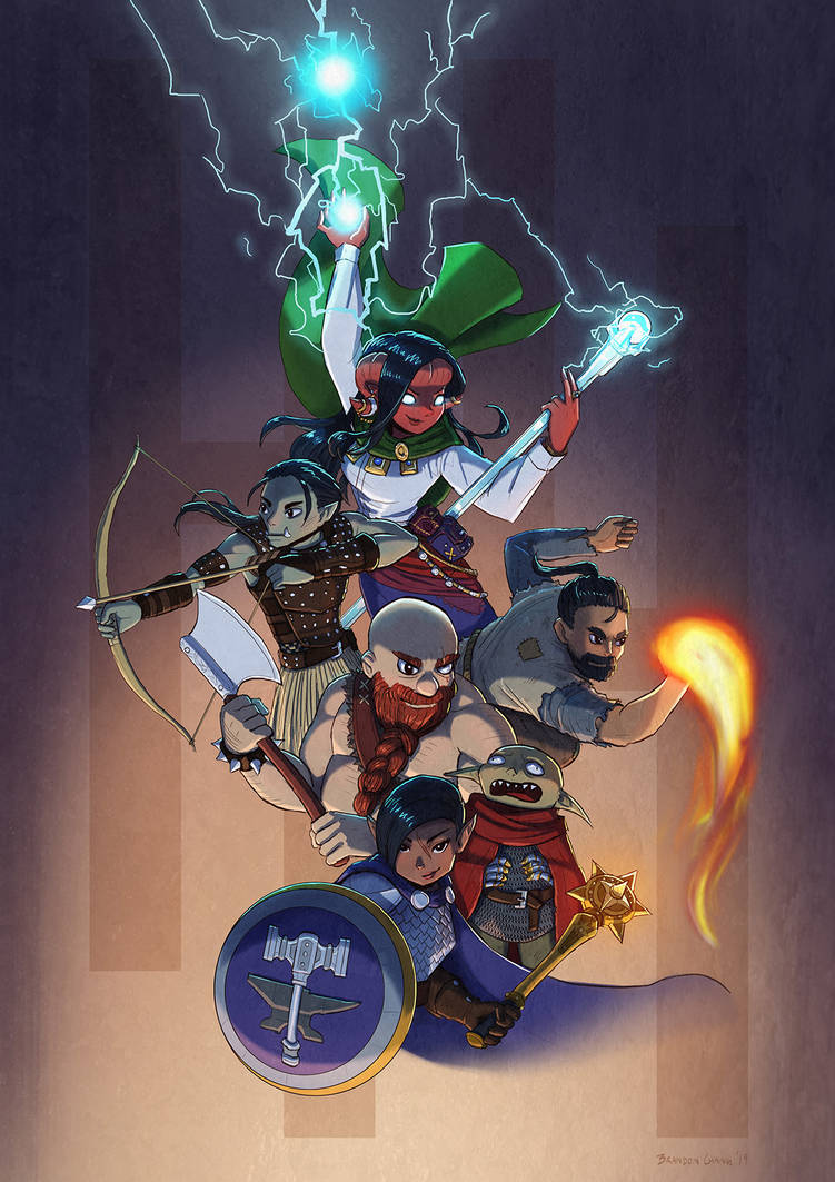 DnD Party Poster by bchart
