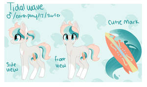 Tidal Wave reference sheet by CandyCrusher3000