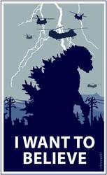 Godzilla Believe by Tracer67
