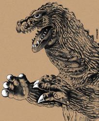 Godzilla1962 by Tracer67