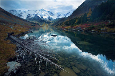 Altai Mountains by phi1in