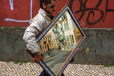 Streets of Lisbon by phi1in