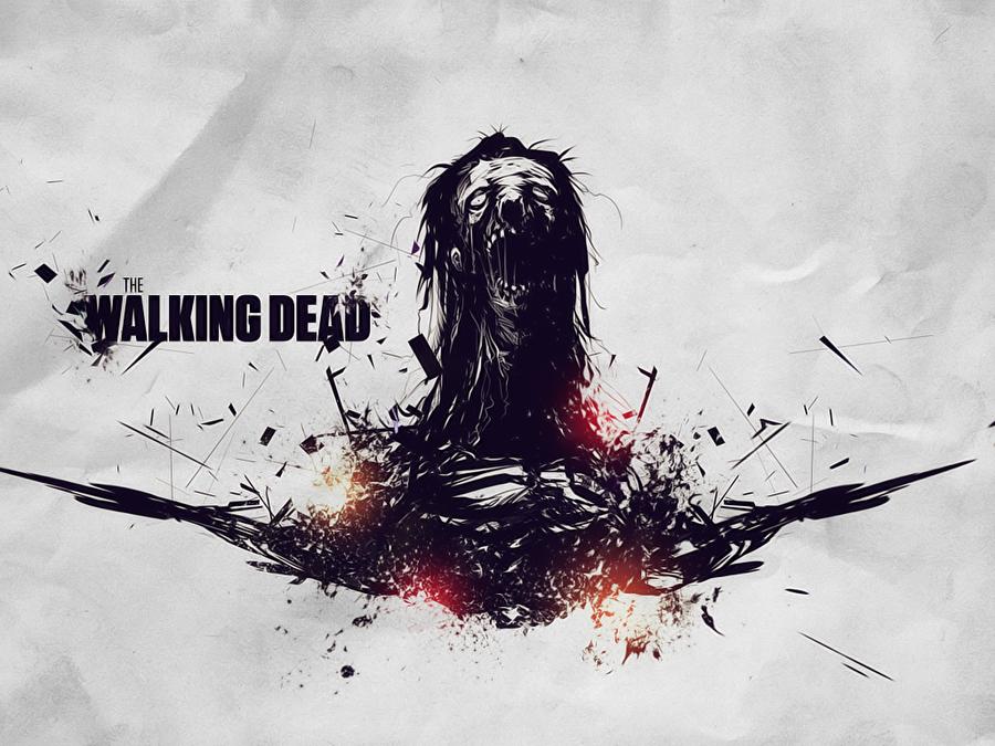 The Walkin Dead Wall by BlindEnVy