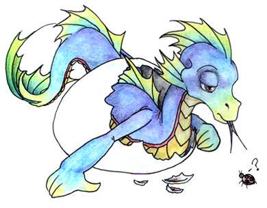 baby dragon tattoo 1 by theblackdragon