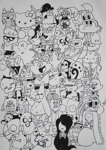 Cartoon Collage by DarianSmiles on DeviantArt