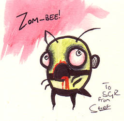 Zom-bee by Stief