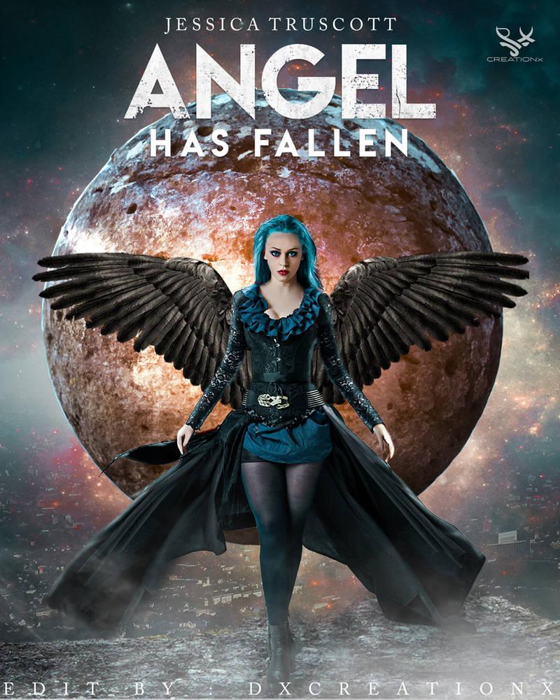 Angel Fallen Artwork By Dxcreationx